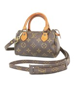 Auth LOUIS VUITTON Speedy Mini Monogram Boston 2-Way Shoulder Handbag #3... - $656.10