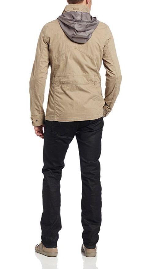 G Star Raw Men's RCO Lockhart Field Jacket, Grege, XX-Large, BNWT $220