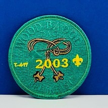Girl Scouts patch badge emblem vintage vtg memorabilia wood 2003 T-417 b... - $11.60