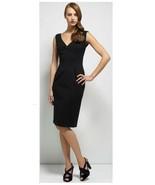 DVF Diane Von Furstenberg Black Duke Dress Size 8 NWT - $180.00