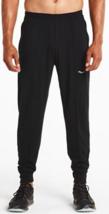 Saucony Boston Size 2XL Extra Large Men's Athletic Sports Pants Black 80731-BK