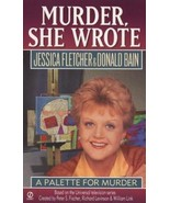 Murder She Wrote: A Palette for Murder 6 by Donald Bain and Jessica Flet... - $0.99