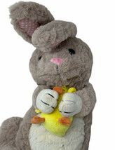 "Animal Adventure Plush Bunny Rabbit With Chick 19"" Soft Stuffed Animal T... - $13.86"