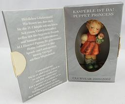 """Hummel Figure Hum 2103/A Puppet Princess # 1664 Box & Certificate 4"""" Exc... - $40.00"""