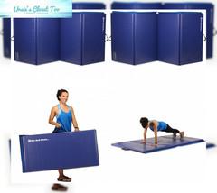 We Sell Mats Folding Exercise Gym Mats, 4 x 6', Blue - $109.40