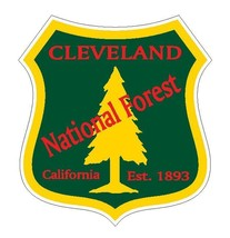 Cleveland National Forest Sticker R3217 California YOU CHOOSE SIZE - $1.45+