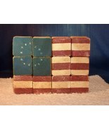 Handcrafted Antiqued Wooden UNITED STATES FLAG - New, Fabulous Item!!  - $6.99