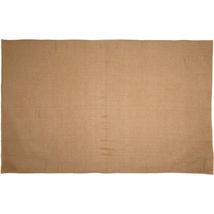 New 100% cotton BURLAP NATURAL TABLE CLOTH 60X102 - $42.99