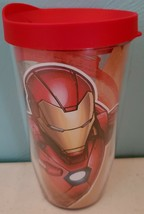 Tervis Iron Man Wrap With Travel Lid 16 oz NEW - $17.35