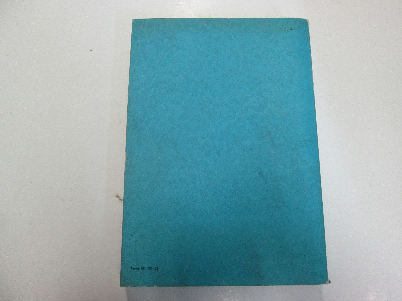 1972 1973 FORD CORTINA Service Repair Manual FACTORY USED STAINS WRITING OEM
