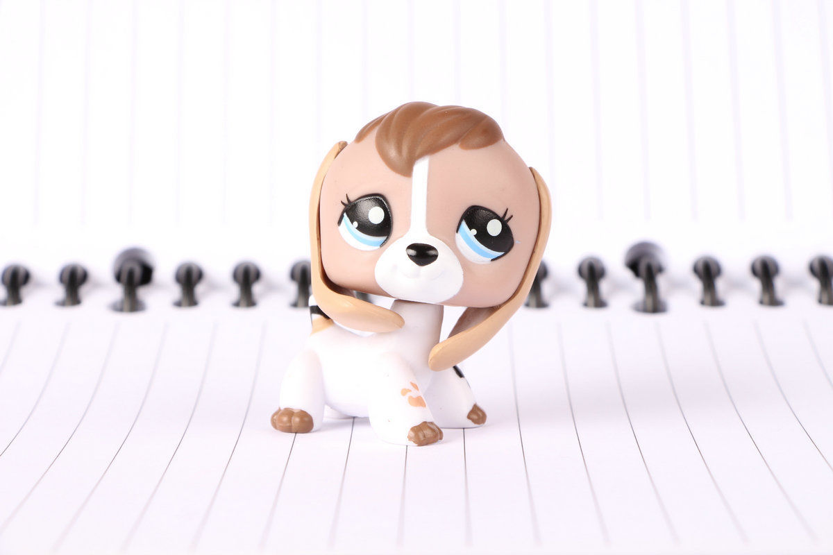 Lps Figure 2207 Tan Brown White Cow Print And 50 Similar Items