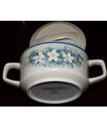 Temper-Ware Sugar Bowl w Lid by Lenox Dewdrops Pattern - $24.71