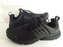 Nike Air Presto Essential  Triple Black Mens Running Shoe 848187-011 Siz... - $49.50