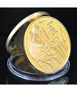 United States Year of the Ox golden uncirc. coin 2021 - £10.77 GBP