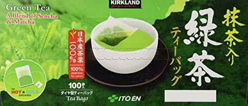 Kirkland Signature Ito En Matcha Blend, 100% Japanese Green Tea Leaves, 4 Pack - $99.99