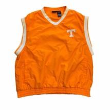 Tennessee Volunteers Pullover Windbreaker Sleeveless Vest Jacket Men's XL NCAA - $14.95