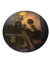 """Norman Rockwell Mothers Day 1981 Collectible Plate Knowles China 8.5"""" - €6,04 EUR"""
