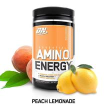 Optimum Nutrition Amino Energy with Green Tea and Green Coffee (Peach Le... - $86.52