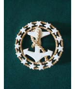 Vintage Anchor ~ Stars Pin ~ Brooch ~ Nautical ~ R.N.K. - $9.00
