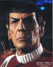 Leonard Nimoy Star Trek II: The Wrath of Khan Mr. Spock Autographed Pict... - $241.87