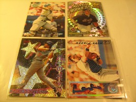 (Lot of 4) 1990's Cards MIKE PIAZZA Topps TSC 216 2 RT8 149 [c3a14] - $10.83