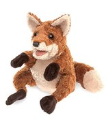 Folkmanis Crafty Fox Hand Puppet, Red-Brown/Light Tan - $21.87
