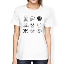 Skulls Womens White Shirt - $14.99+