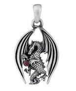 YTC Summit Drakon Dragon Pendant Collectible Necklace Accessory Serpent ... - $11.87