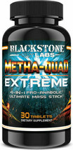 Blackstone Labs Metha Quad Extreme 4 in 1 Pro-Anabolic Ultimate Mass Sta... - $67.55