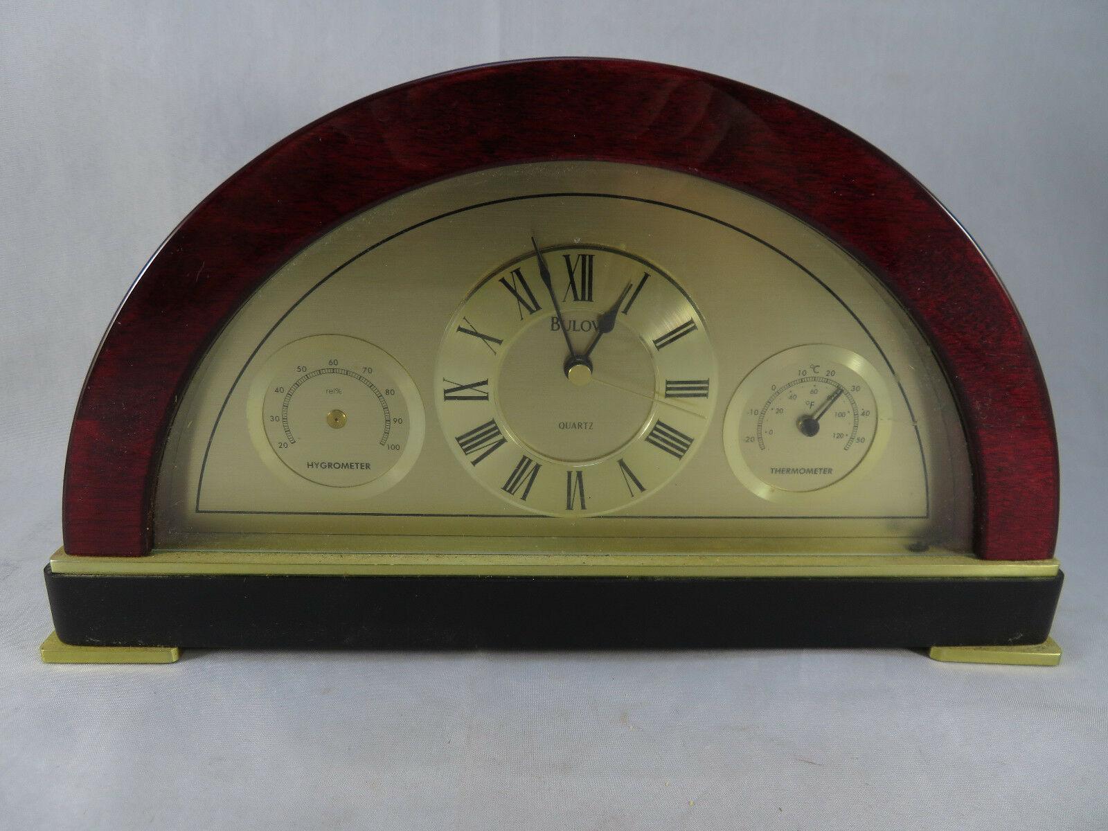 Bulova Desk Clock Quartz - $40.00