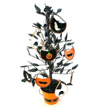 Black Halloween Tree Black Leaves And Pottery Barn Kids Ornaments - $60.59