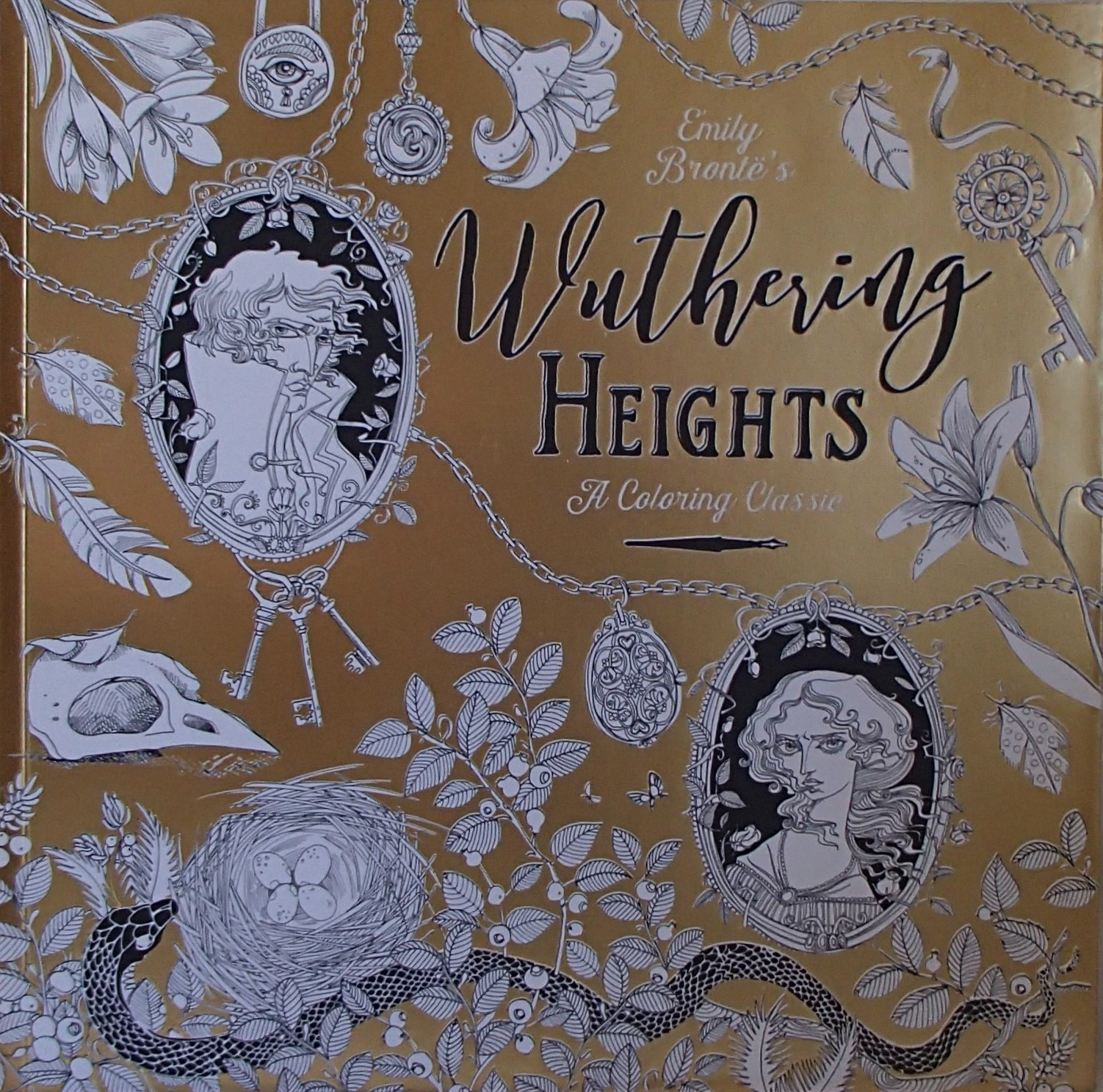 Primary image for Wuthering Heights A Coloring Classic PB Book 2016 Random House Emily Bronte's