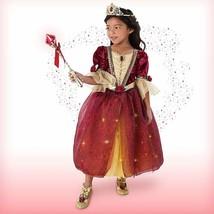Disney Beauty & the Beast Princess Belle Interactive Deluxe Costume Set Kids 5/6 - $99.95