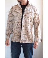 USMC US Marine Corps Combat Desert MARPAT Shirt/Jacket - $39.60