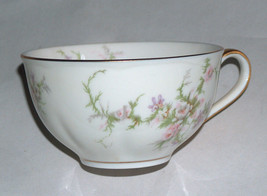 """1 Theodore Haviland New York ROSALINDE Replacement Cup For Saucer 3.75"""" Brim USA - $15.61"""