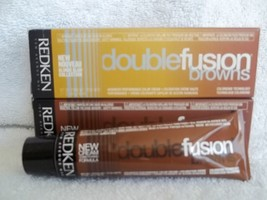Redken Double Fusion DOUBLE BROWNS New Cream Hair Color (Lot of 10)~U Pick~2 oz - $34.94