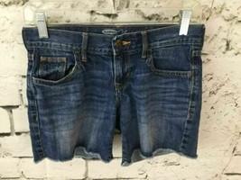 Old Navy Womens Sz 0 Jean Shorts Blue Denim Flirt - $9.89