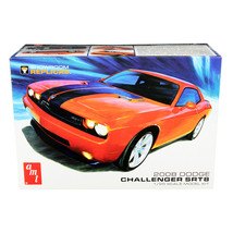 Skill 2 Model Kit 2008 Dodge Challenger SRT8 Showroom Replicas 1/25 Scal... - $41.95
