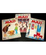 3 MAD Magazines 199 201 206 June Sept 1978 Apr 1979 GOOD-VG Saturday Nig... - $19.99