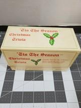 1993 Debco 'Tis The Season Christmas Trivia Game - $8.97
