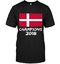Denmark Champions 2018 Football Jersey Soccer Shirt Danish - $17.99+