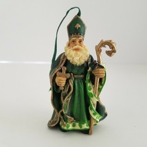 Polish St Nicholas Bishop Christmas Tree Ornament International Santa - $11.49