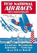 National Air Races 1930 - Art Print - $19.99+