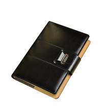 A5 Vintage Thick Blank Journals Black Leather Bound Notebooks Diaries No... - $20.79