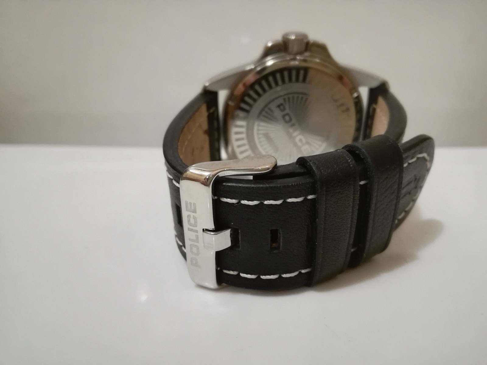 Gents watch /  Police watch / quart watch / metal watch / vintage  / watch image 5