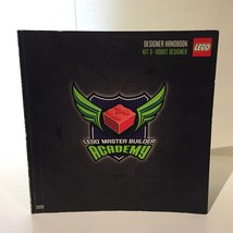 LEGO Master Builder Academy Designer Handbook for Space Designer 2011 Bo... - $9.49