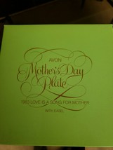 "AVON Collectors Plate 1983 Mother's Day Love is a Song for Mother 5"" Diameter - $10.00"