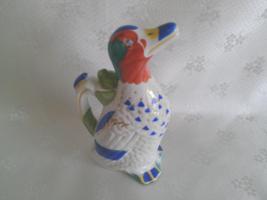 Porcelain Decanter duck. Hand-painted porcelain decanter. Lomonosov porc... - $99.00