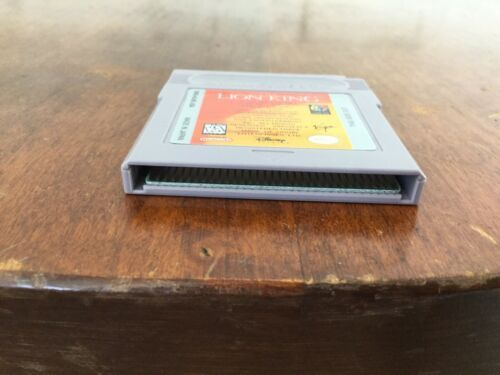 Nintendo Game Boy Lion King Game Cartridge