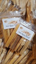 1 Pack of 12 x Wild Harvested Palo Santo Holy Sacred Wood Strong Incense... - $12.99